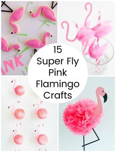 15 Super Fly Pink Flamingo Crafts (Make and Takes) Pink Flamingo Craft, Flamingo Baby Shower, Flamingo Gifts, Flamingo Decor, Flamingo Birthday, Pink Flamingos, Crafts For Teens, Crafts To Make, Fun Crafts