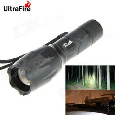 UltraFire 500lm 5-Mode White Zooming Flashlight Set - Black (1 x 18650 / 3 x AAA). Note: We are currently unable to ship to addresses in HongKong, mainland of China.. Tags: #Lights #Lighting #Flashlights #LED #Flashlights #18650 #Flashlights