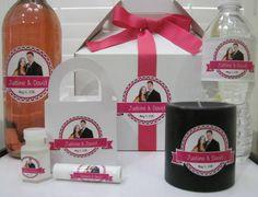 #weddinggaldecals #prettyinpink #customizedweddingfavors #funinfuchsia #personalizedweddingfavors #weddings #events #favors #personalized #customize #labels #decals #waterproof #pink #lipbalm #bubbles #winelabels #waterbottlelabels #fuchsia