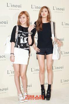 lizzy and nana at L'inoui event