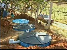 Reportagem ao programa Globo Rural sobre projeto de fossa séptica que irá beneficiar 180 produtores rurais até 2014.
