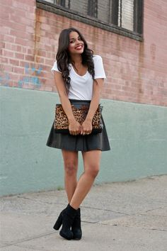 Style inspiration via fashion blogger Erica from LPFashionPhilosophy (in a pair of bebe boots!)
