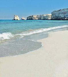 Torre dell'Orso (Melendugno, Lecce) #beach #Salento #Puglia