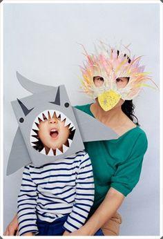 Idea para #máscara de #dinosaurio gritando