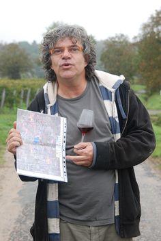 Xavier Amirault - St-Nicolas-de-Bourgueil - Clos des Quarterons - Rencontré lors de la ( ) en Loire, Octobre 2014