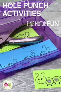 Fun Fine Motor Hole Punch Activities for the Whole Year - Kids love these hole punch activities. Use the printables to build fine motor skills, for hand stre - Fine Motor Activities For Kids, Motor Skills Activities, Preschool Learning, Educational Activities, Preschool Activities, Fall Preschool, Teaching, Preschool Fine Motor Skills, Early Learning Activities