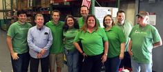 Take a look at our group of amazing volunteers at Publix Serves Day!