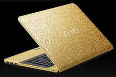 vaio golden laptop - Google Search