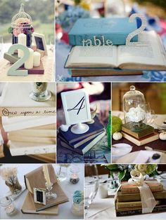 Book centerpiece ideas