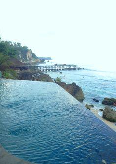 Early morning swim - AYANA Resort, Bali