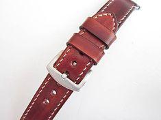 leon / Hnedý kožený remienok pre apple hodinky 38mm