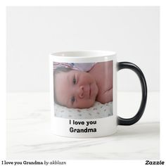 Shop I love you Grandma Magic Mug created by akblazn. Personalize it with photos & text or purchase as is! I Love You, My Love, Color Changing Coffee Mug, Little Girls, Coffee Mugs, Shop My, Magic, Cute, Toddler Girls