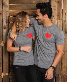 Carlos & Alexa PenaVega ... Cross Your Heart T-Shirt