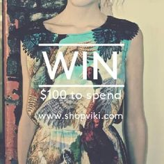 Alice Takes A Trip Pheasant Bird Dress - WIN $100 to spend #fashion 1. Like our fb page fb.com/shopatviki 2. Share this photo 3. Follow us on instagram @shopviki *Don't forget to #shopviki to enter the draw.  Entries close 31st Oct 2013.