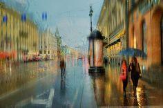 Эдуард Гордеев, Дождливый Санкт-Петербург