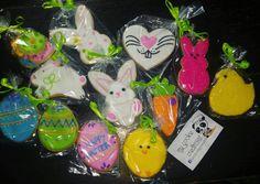 Surtido de #easter para mis clientes gracias 🐰😍❤🐤🍪 #mycookiecreations #eastercookies #cookies