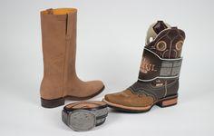 """En el Pabellón """"Marcas GTO"""" de la Feria Estatal de León encontraras Botas Tory Boots. Un producto de calidad hecho en Guanajuato que te va a encantar."""