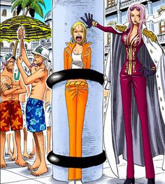 One Piece - Hina, Miss Valentine, Jango & Fullbody One Piece Chapter, One Piece 1, One Piece Manga, Manga Art, Anime Manga, Bleach Manga Chapters, Best Animes Ever, One Peace, Close My Eyes