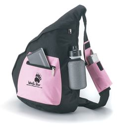 The Performance Collection. Fashionable and sporty. Features: cell phone holder on adjustable shoulder strap,front zippered pocket and mesh holder with water bottle. Wholesale Backpacks, Pink Day, Cell Phone Holder, Luggage Bags, Shoulder Strap, Packing, Sporty, Image Search, Cute