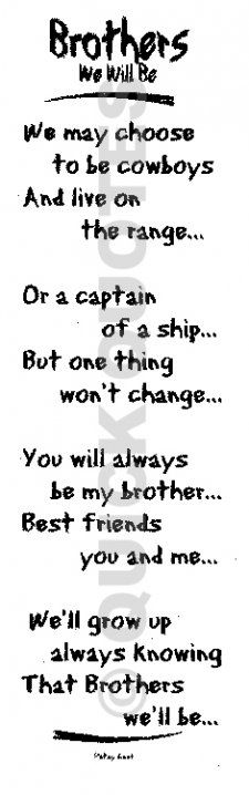 I pray my boys feel this way about each other as they grow up!