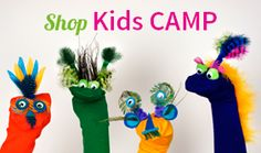 Shop Kids Camp SHOP FEATHERS:www.featherplace.com/holiday/kids-camp.html