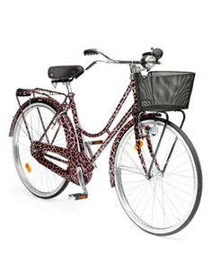 The Ultimate Summer Accessory: A Leopard-Print Dolce and Gabbana bicycle.