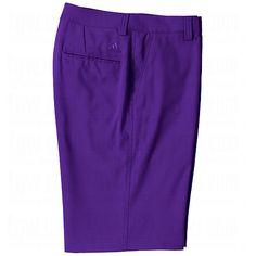 34eddd17746be9 adidas Mens ClimaLite Flat Front Shorts 36 36.0 Bluebonnet