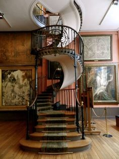 Amazing Staircase! Musée national Gustave-Moreau