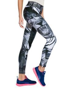 The Eon Contrast-Print Lion Leggings