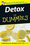 Detox For Dummies:Book Information - For Dummies