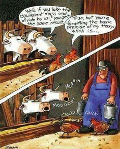"""The Far Side"" by Gary Larson. Cartoon Jokes, Funny Cartoons, Funny Jokes, Hilarious, Funny Posters, Far Side Cartoons, Far Side Comics, Marvel Comics, Fun Comics"