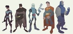 character designs from marvel heroes opening cinematic - Google Search