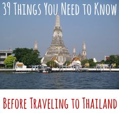 Everything you need to know before traveling to Thailand - 39 first-hand tips from Anetta at The Wanderlust Kitchen. Thailand Vacation, Thailand Travel, Asia Travel, Bangkok Thailand, Places To Travel, Travel Destinations, Places To Visit, Travel Tips, Laos
