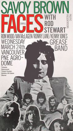 Various Rock/Pop Advertises, Pop Pictures, Rock Pictures, Music, Funny Pictures and alot more. Tour Posters, Band Posters, Online Galerie, Vintage Concert Posters, Concert Flyer, Old Advertisements, Rock Concert, Blues Music, Rock Legends