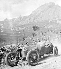 Targa Florio 1923 , Alfa Romeo RL TF #10 , Equipe Alfa Corse , Driver Antonio Ascari , overall second place.