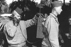 Walkie Talkie Motorola, 1940. Used during Second World War.
