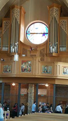 Organ of the Catholic Cathedral in Karaganda