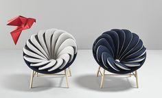 Bird Inspired Quetzal Chair by Marc Venot