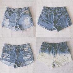 DIY shorts by martina