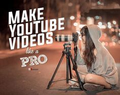 With the growing Youtube video ideas to help you create viral videos, the competition becomes high because thousands of videos are getting uploaded per hour. Learn to make good, professional YouTube videos that goes viral and drive lots of subscribers to your YouTube channel. Making videos professionally is not as complicated as it appears. If you have basic accessories of shooting, then you are ready for this. You just need to know how to hold a camera & some basics of filmmaking.