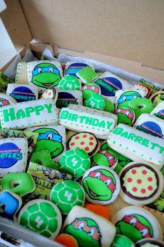 Teenage Mutant Ninja Turtles -- Birthday Sugar Cookies