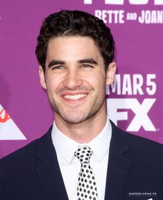 Darren Criss at the premiere of FX Network's 'Feud: Bette And Joan' on March 1, 2017.