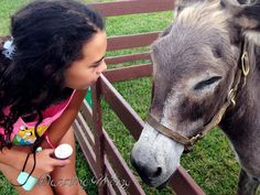These pictures of her this summer at the petting zoo at our church reminds me of her gentle caring heart.