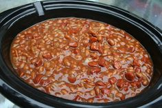 COOK WITH SUSAN: Hawaiian Style Slow Cooker Baked Beans
