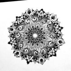 ➰➰➰ #blxckmandalas #mandala #mandalas #art #drawing