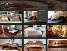 DYNAMIC WEBSITE >> Creator Creations Pallet Craft Services in the Lowveld