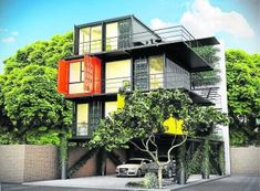 Bogotá tendrá edificio de oficinas de contenedores