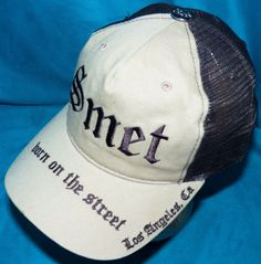 Christian Audigier Smet Los Angeles Born on the Street Snapback Baseball Hat Cap #ChristianAudigier #Trucker