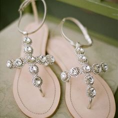 Brides: Wedding Shoes for a Beach Wedding | Wedding Accessories | Brides.com