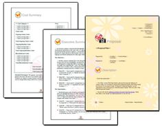 Business Proposal Software and Templates Photography Business Proposal Sample, Proposal Templates, Proposals, Cover Pages, Photography Business, Page Design, Software, Facebook, Writing